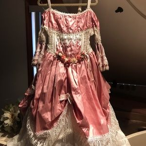 OOAK A LITTLE KERRY FAIRY PRINCESS COUTURE DRESS 4
